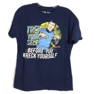 "Star Trek Spock ""Trek Yourself"" Monogram Graphic T"